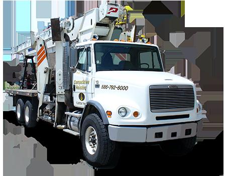 28-ton Boom Truck